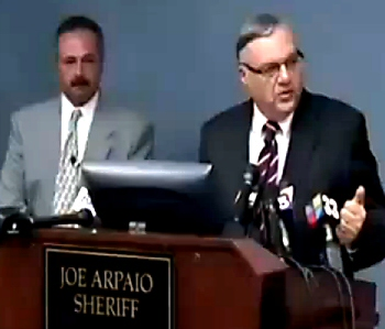 "There's Been a Fraud, All Right -- Sheriff Joe Arpaio and His Lead ""Investigator"" Michael Zullo Present Their Faked Evidence to the Nation Last Week (July 17, 2012)"