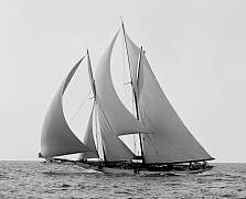 The Elizabeth and Margaret Was a Schooner, Perhaps Similar to This One, that Hauled Coal from New Jersey