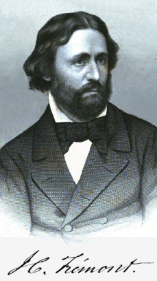 "Presidential Candidate Col. John Charles Frémont Must Have Been Proud of His French Heritage and Father -- He Signed His Name With an Accent Over the ""E."""