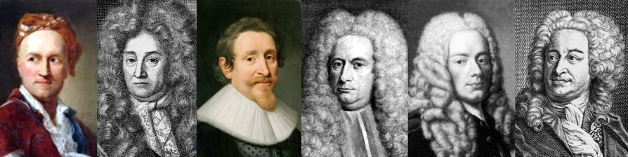 What Did the Law of Nations Writers Say Relevant to Natural Born Citizenship? Pictured: Vattel, Pufendorf, Grotius, Bynkershoek, Burlamaqui, and Wolff
